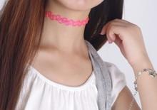 HOT Tattoo Choker Stretch Necklace/SET ,elastic boho necklace