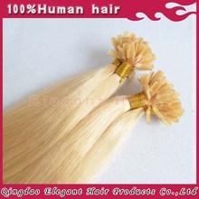 2015 Alibaba Brazilian remy hair 1g/s new fashion black brown blonde pre bonded u tips human hair extensions