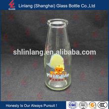 Wholesale Good Reputation Clear Fresh Milk Glass Bottle