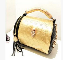 Beautiful bling korean style fashion PU handbags Korean wholesale women handbag