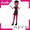 plástico americano atacado roupas de boneca bonecas menina quente item boneca