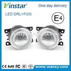 Factory Supply Wholesale LED DRL Fog Lights Emark 2in1 LED DRL
