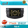 Car DVD Player for Toyota RAV4 old Car Radio with GPS 3g rds