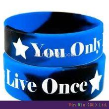 Personalized silicone bracelets, sleeping and activity tracker bracelet, most popular wholesale custom bracelet