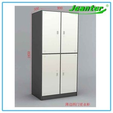 Guangzhou Metal Bedroom Clothes Cabinet 2 Door Clothing Wardrobe Furniture