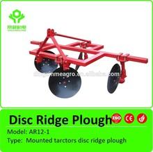 Agrícola montado herramienta de tarctors disco cresta arado