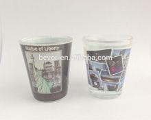 CE/EU/FDA/SGS high quality printed shot glass,tequila shot glass,20ml shot glass cup