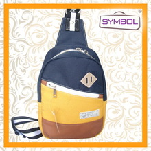 Fashionable promotional canvas backpack college