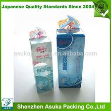 Clear Plastic Box Cosmetics Packaging Box PVC Box Printing