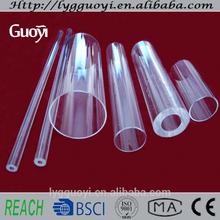 High pressure quartz glass tube/quartz glass pipes wholesale