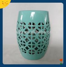 Ceramic garden stool assorted color