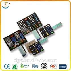 high quality medical membrane keyboards