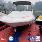 puncture resistant deck plastic floating boat dock slide