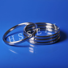 high pressure customized size ANSI/ASME/PN delta/oval/lens/octagonal/hollow metal valve/submarine ring gasket
