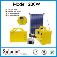 small systerm high power solar dc power system 100w 12v mono solar panel home lighting kits