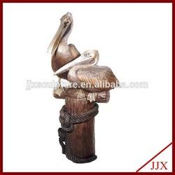 Bronze Pelican Statue For Sale