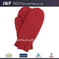 卸売冬暖かい柔らかいメリノウールの手袋
