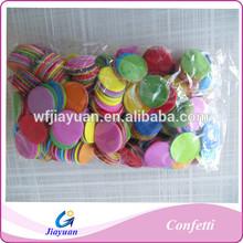 Excent romantic wedding decoration and multicolor metallicfoil paper confettis