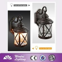 Small Size Lighting Casting Aluminum Wall Lantern