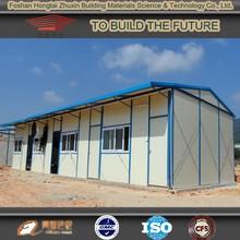 low cost prefab houses , economic prefab cabin ,light steel structure