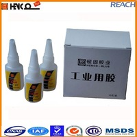 H401 Fast bonding cyanoacrylate adhesive for porous materials rubber