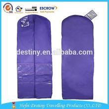 2015 Garment Bag Type and folder Storage Usage wedding dress garment bag