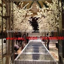 Q013113 wedding blossom tree white flower trees artificial silk cherry blossom trees