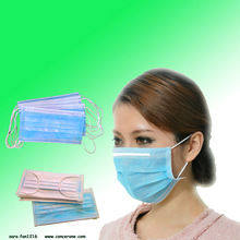 3 ply non woven face mask / disposable face mask surgical masks / colored surgical masks