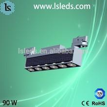 High illuminance led light qualith ensure led track light 90w