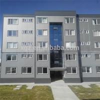 multi story steel frame prefab apartment complex