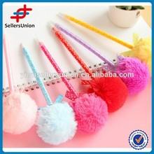 New design plastic flower fashion ballpoint pen