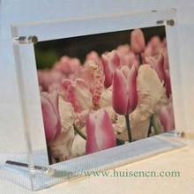 foshan huisen branded photo frames acrylic cheap