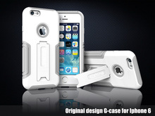 TPU + PC Placstic Frame Case for Apple iphone 6 6 G 4.7 inch Phone bags cover for iphone6