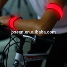 hot new product 2015 promotion LED light sports items safety reflective LED armband