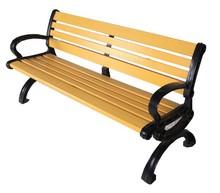 iron garden bench,WPC bench for rest in public