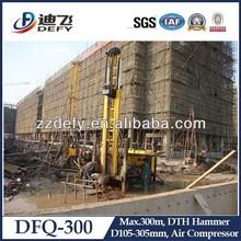 DFQ-300 Mini DTH Drilling Rig for Hard Rock