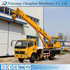 International Emission Standard Truck with Telescopic Crane for Sale