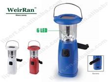 (130112) Solar Emergency Camping Light/Lantern,Dynamo/Crank Recharge Camping
