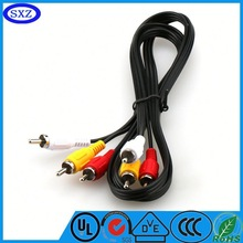 2015 High-quality high end 3 rca to 3rca cable vga rca cable From China factory hot selling