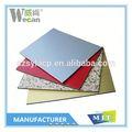 de alta calidad populares de resistencia ácido panel compuesto de aluminio de construcción de materiales de construcción