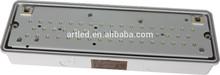 IP65 12W 1000lm PC material led bulk head light CRI>80