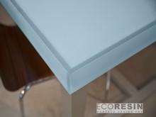Lumicor resin panel wall panel