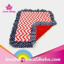 Hot sales fleece knitted baby blanket wool blanket LBS5013104
