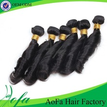 Loose Spring curly hair extensions wholesale 26 inch human hair extension