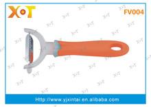 Y shape color TPR handle vegetable peeler
