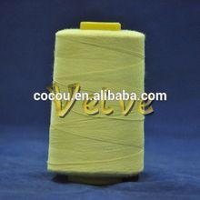 meta aramid and para aramid thread sewing thread
