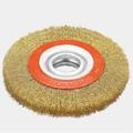 la superficie circular cepillo de alambre de superficie