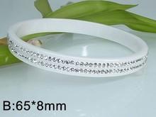 XB24064 2015 hot sale ceramic bangles for women