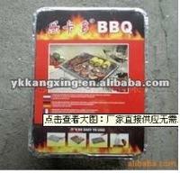 aluminium foil in box packing bbq grill 2015 popular type