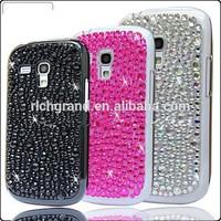 For Samsung galaxy S3 mini i8190 crystal bling diamond hard case cover